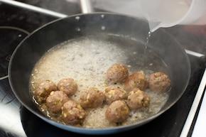 Mięsne kulki z indyka w koperkowym sosie – krok 2