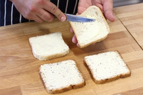 Mini kanapki na imprezę – krok 1
