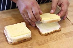 Mini kanapki na imprezę – krok 3