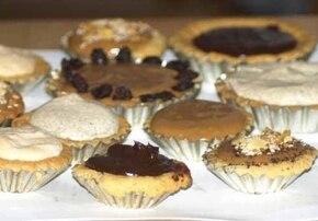 Mini Mazurek czekoladowy