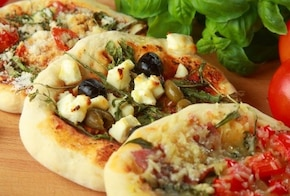 Mini pizza trzy różne smaki