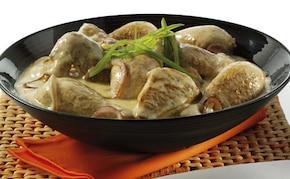 Miodowo-musztardowa potrawka z kurczaka