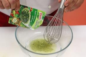 Fasolka szparagowa w boczku – krok 4