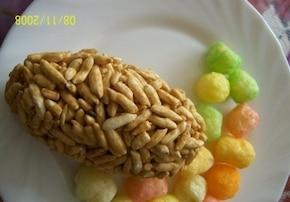 Moje  ryżowe szyszki