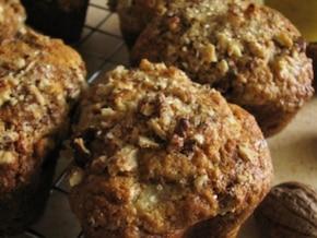 Muffinki piernikowe z jabłkami