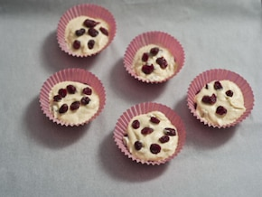 Muffinki żurawinowe – krok 4