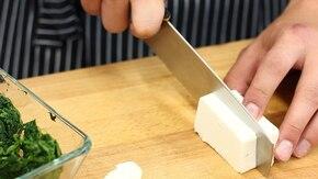 Muffinki ze szpinakiem – krok 1