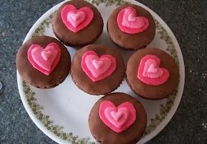 Muffinkowe serduszka dla Mamy