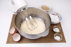 Bezglutenowe muffinki ryżowe – krok 1