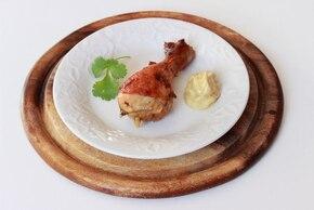 Musztardowe pałki z kurczaka