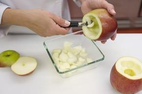 Nadziewane jabłka – krok 1
