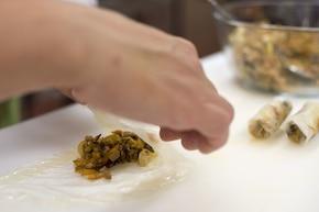 Naleśniki chińskie  – krok 4
