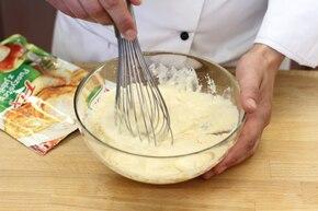 Pancakes z truskawkami – krok 1