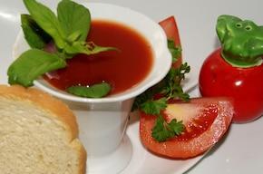 Napój pomidorowy na lato