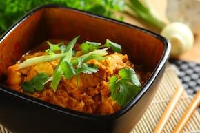 Nudle z patelni: curry