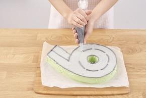 Cyferkowe ciasto – krok 8
