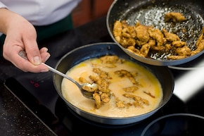 Omlet z kurczakiem i brokułami – krok 4