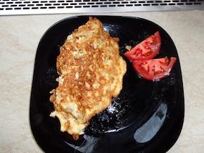 Omlet z otrębami - pyszne śniadanko !!!