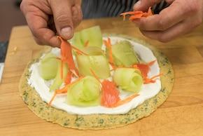 Omlet z warzywami i otrębami – krok 4