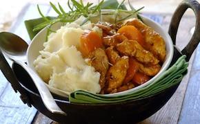 Orientalny kurczak z marchewką