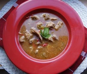 Ostra zupa gulaszowa