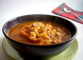 Ostra zupa z ciecierzycą