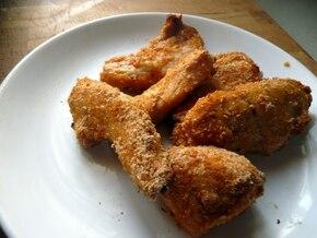 Ostre chrupery z kurczaka