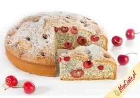 Bezglutenowe ciasto z owocami