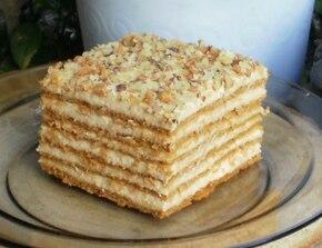 ciasto miodowo kajmakowe marlenka