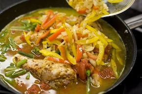 Paella z kurczakiem – krok 4