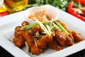 Paluszki z kurczaka na ostro