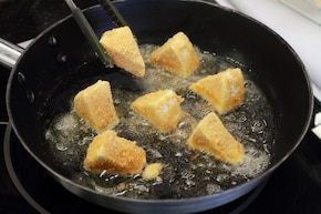 Panierowany ser camembert – krok 3