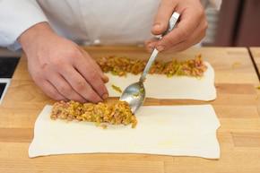 Paszteciki z mięsem indyka – krok 4