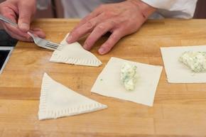 Paszteciki z serem feta – krok 3