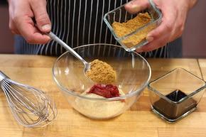 Pieczeń wieprzowa w glazurze z brązowego cukru – krok 1