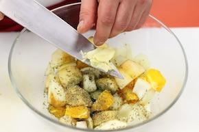 Pieczona kaczka z sosem rodzynkowym – krok 1