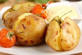 Młode ziemniaki zapiekane