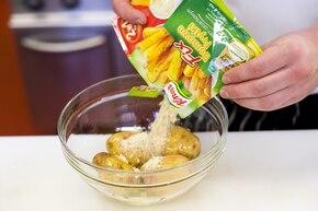 Pieczone ziemniaki po amerykańsku  – krok 1