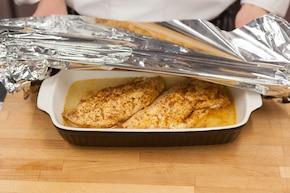Pieczony udziec z indyka z sosem  – krok 2