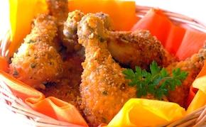 Pieprzowe pałki z kurczaka