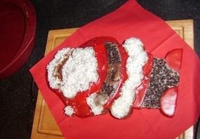 Piernikowy Świąteczny Mikołaj