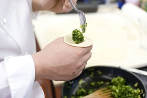 Pierogi ze szpinakiem i ziemniakami – krok 3
