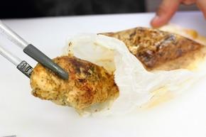 Pierś z kurczaka z orzechowym farszem  – krok 6