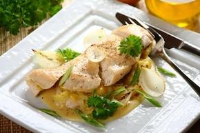 Piersi z kurczaka z serem i cebulą - VIDEO