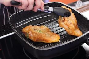 Kurczak z pomidorami i mozzarellą – krok 5