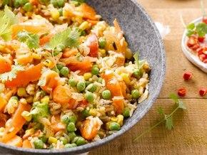 Ryż po meksykańsku z warzywami