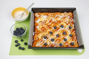 Placek serowy z morelami – krok 6