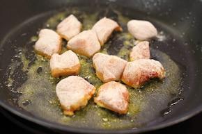 Placki po węgiersku z kurczakiem – krok 1