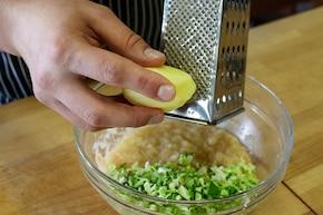 Placuszki kapuściano-ziemniaczane  – krok 2
