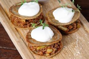 Placuszki gryczane z mielonym mięsem wołowym – krok 3